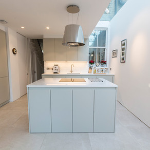 Handleless kitchen, Putney - London