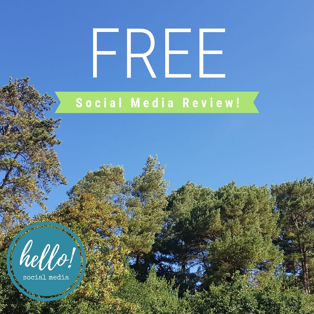 Free Social Media Review in Petersfield, Hampshire