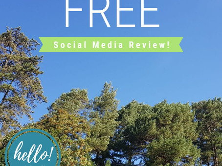 FREE Social Media Review - Petersfield, Hampshire
