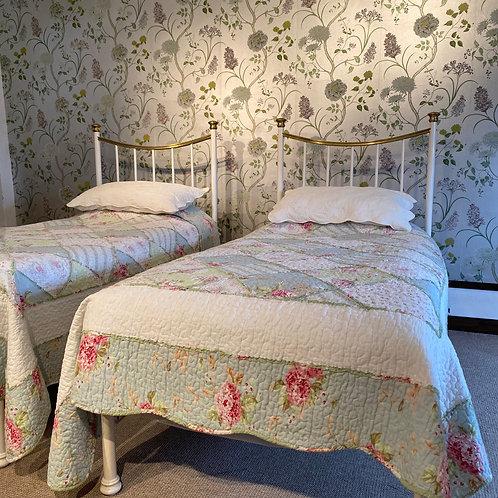 Pair of Edwardian Single Bed Frames - OM071
