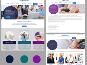 Trust Health, Horsham - Rebrand and Website Design