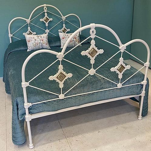 Double - Victorian Iron Bedstead - OM139