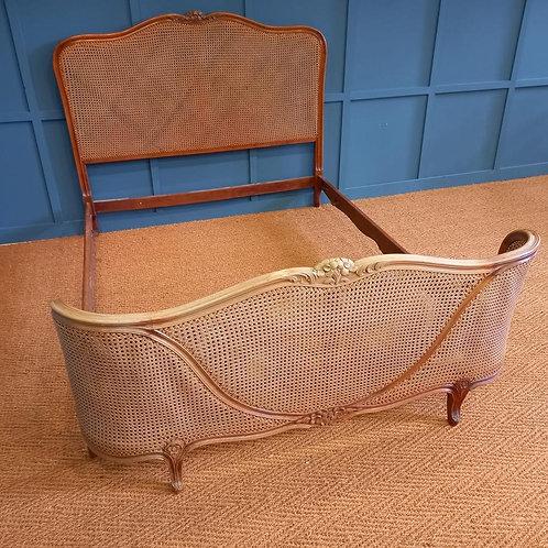 Kingsize - Antique Caned Bed - OC008