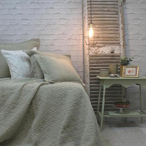 Stonewash Cotton Pampas Bedspread