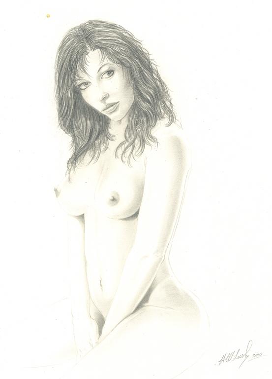 Naked lady - Hampshire Artist