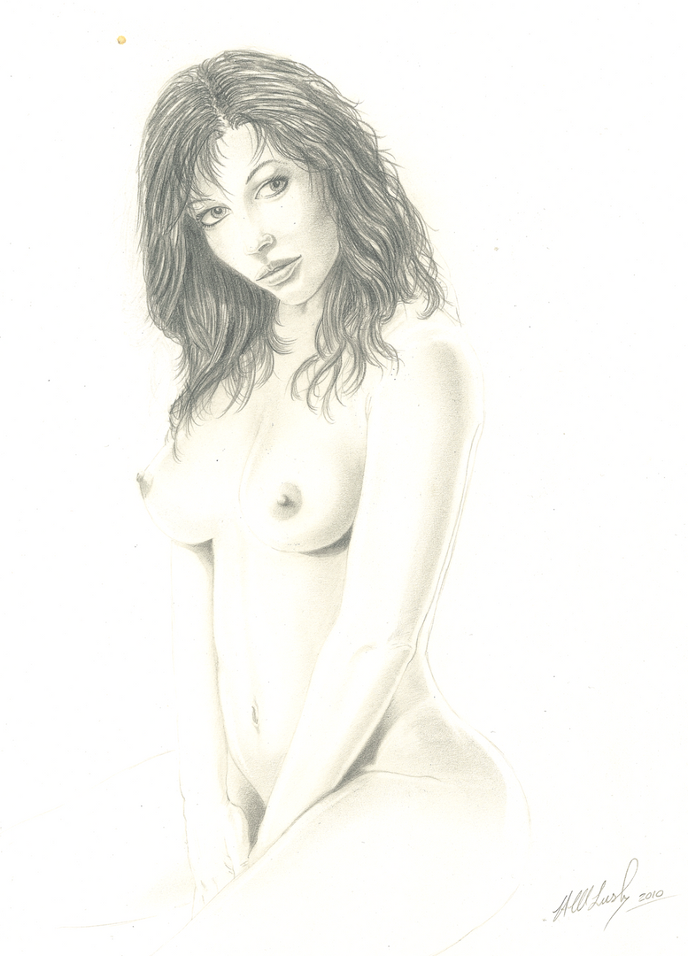 Naked lady - Hampshire Artist