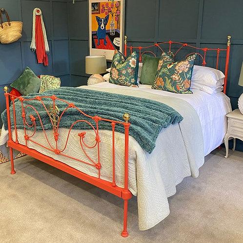 Kingsize - Antique Orange Bed - OM150
