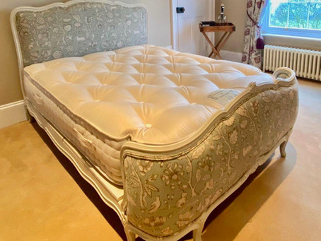 Antique French Bed - Seventh Heaven!