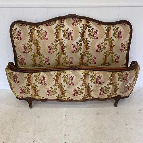 Super King - Antique French Upholstered Bed - UP057