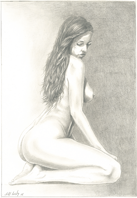 Nude Portrait - Hampshire Artist
