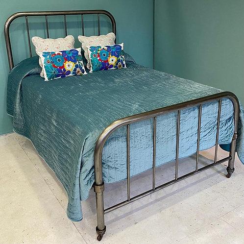 Double - Unusual Victorian Utilitarian Bed - OM135