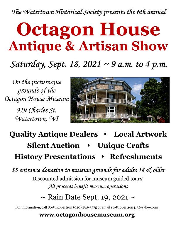 2021 Octagon House Antique Show Flyer 2.png