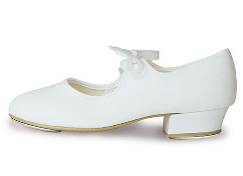 Bloch White Tap Shoes S0330