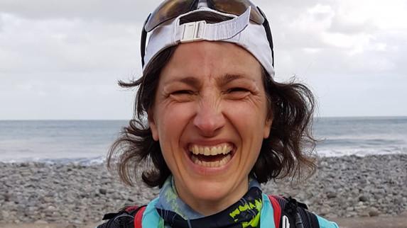 Lysiane sur le Marathon