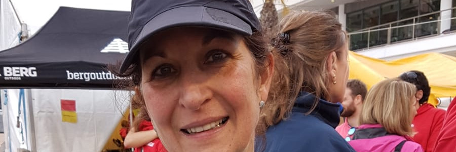Maria sur le Marathon