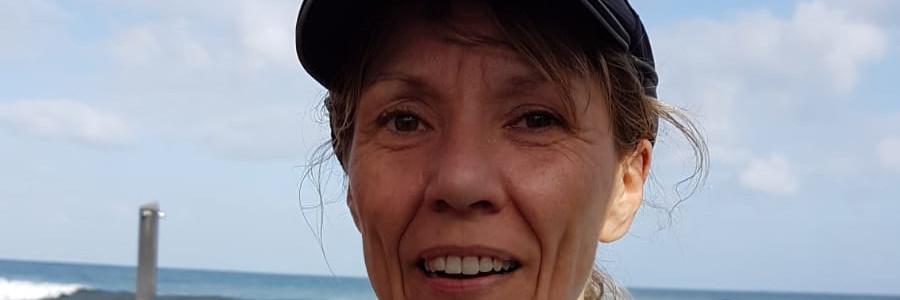 Stephanie sur le Marathon