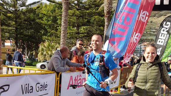 Alex sur le Marathon