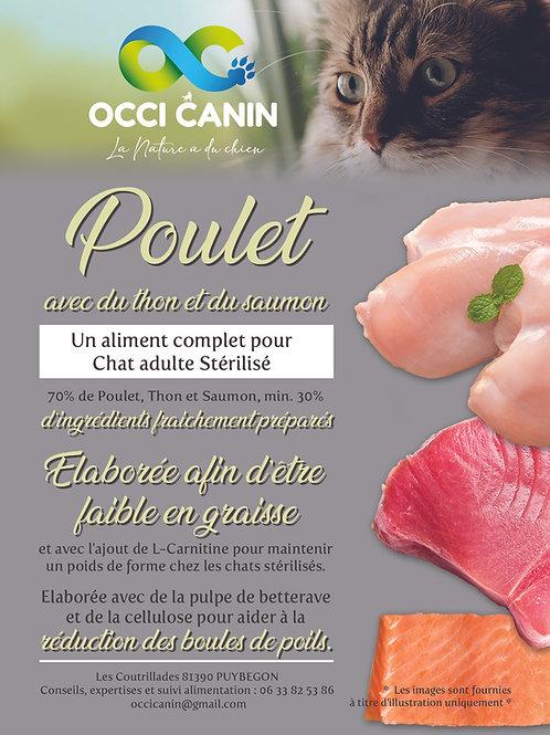 OC Chat stérilisé Luxe Grain free