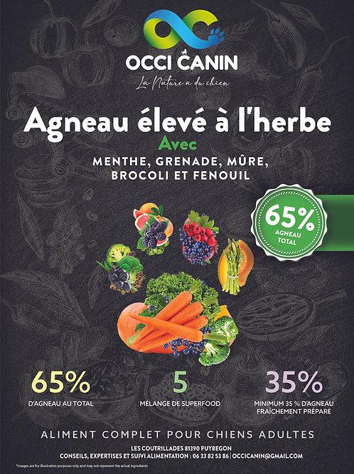 OC Athletic Superfood Agneau élevé à l'herbe Grain Free
