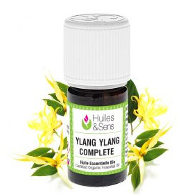 Huile essentielle Ylang Ylang complète BIO