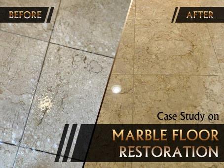 A Case Study on Crema Marfil Marble Floor Restoration
