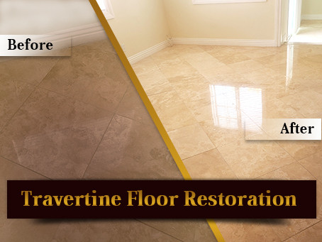 How to Restore Natural Stone and Polish Travertine Floor or Marble Floor– The Ultimate Guide