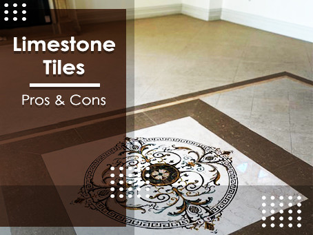 The Pros and Cons of Limestone Tile Flooring