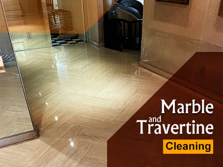 How to Get Affordable Marble and Travertine Cleaning, Polishing, Sealing, and Restoration Services?