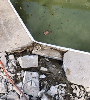 Why Not to Remove an aged Concrete Pool Deck