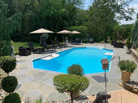 Concrete Pool Deck Classic - Granite Slate