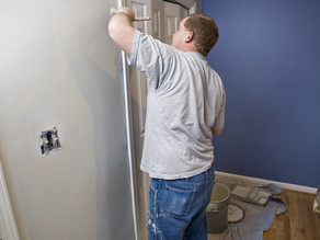 Fresh paint can brighten your Upper Saddle River NJ home for the holidays.