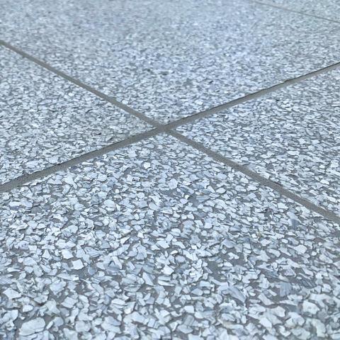 "RenuKrete ECF Epoxy Tiles in ""Cave Gray"""