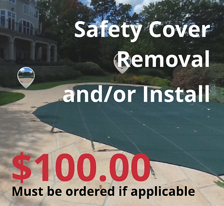 Safety Cover Removal and/or Reinstall (NJ only)