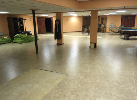 How a customer saved $10,000 upgrading their concrete floor