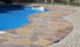 Resurfaced Concrete Pool Deck
