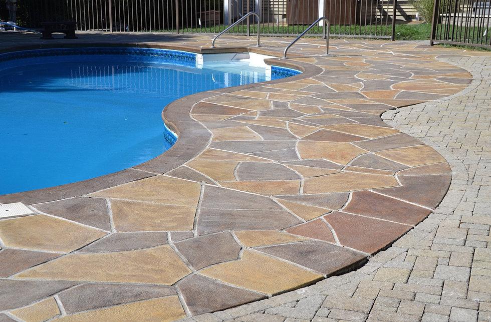 Concrete pool deck repair and resurfacing renukrete for Pool resurfacing