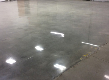 Pennsylvania machine shop whips its concrete floor into shape with RenuKrete concrete polishing.
