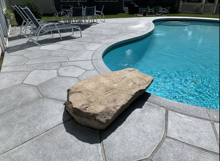 How RenuKrete emits less CO2 and makes your old concrete pool deck, patio or walkway look like new.