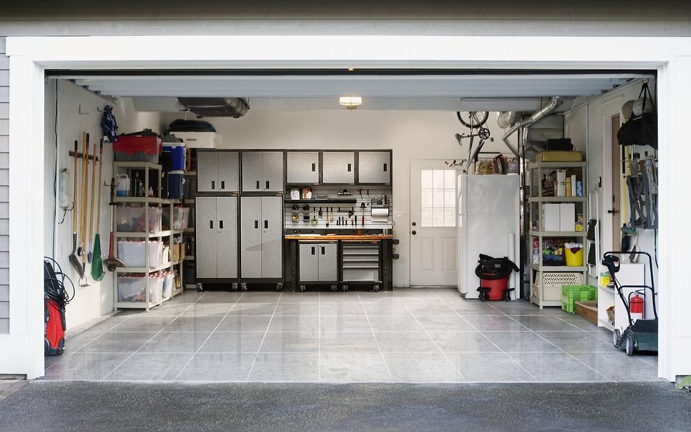 RenuKrete Epoxy Tiles in Garage Flooring NJ, NY, PA