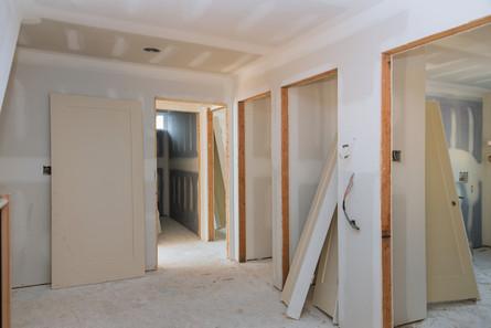 Installing door and window trim