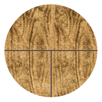 "Brazilian Walnut with Grout Marrone, 6"" x 6"" Sample"