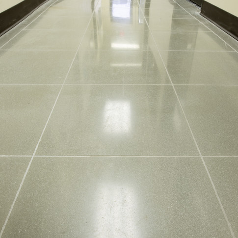 "Engineered Concrete Floor ""Natural Concrete"", Hallway"