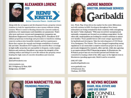 RenuKrete quoted in New Jersey Real Estate Journal - 2020 Market Forecast