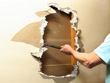 Fixing sheet rock