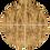 "Thumbnail: Brazilian Walnut with Grout Blanc, 6"" x 6"" Sample"