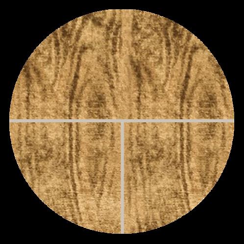 "Brazilian Walnut with Grout Blanc, 6"" x 6"" Sample"