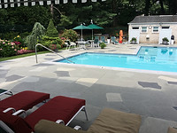 Concrete Pool Deck Classic - Granite Slate