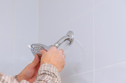 Replacing a shower head