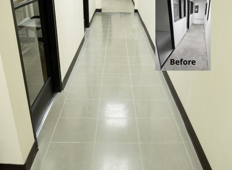 Upgrading your concrete floor on a budget? Here is how...