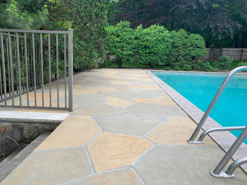 Concrete Floor Interior and Pool Deck Resurfacing   RenuKrete